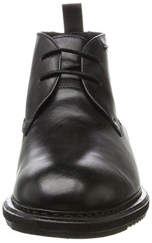 Hombre Gtx Kenleymid Negro black Leather Clarks Para Clásicos Cargadores 5zFdRqwX