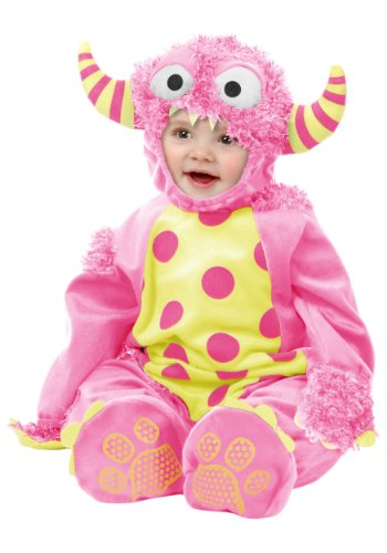 Baby Girl Pink Monster Costume (Pink Mini Monster Baby Costume)