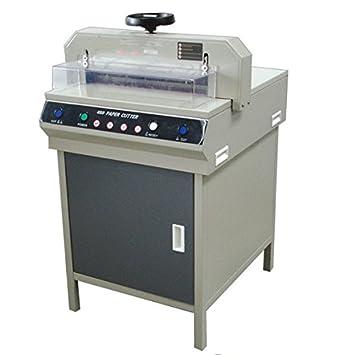 GOWE máquina de corte de papel guillotina,, Max Ancho de corte: 450 mm: Amazon.es: Coche y moto