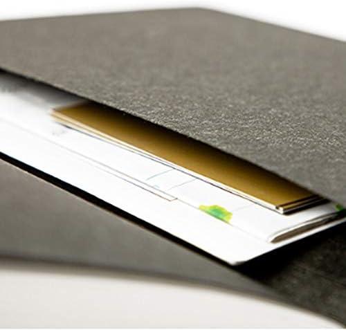 YXIAOn Notizbuch, Kreatives einfaches gepolstertes Notizbuch – Tagebuch und Plan – Geschenk-Box / 128 Blatt schönes Buch, glattes Schreiben blau