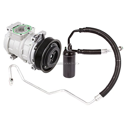 (AC Compressor w/A/C Drier For Jeep Grand Cherokee 1993-1998 - BuyAutoParts 60-86333R2 NEW)