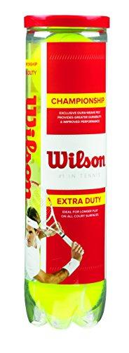 Wilson Tennisbälle Championship  4er, Gelb, 6.5, WRT110000