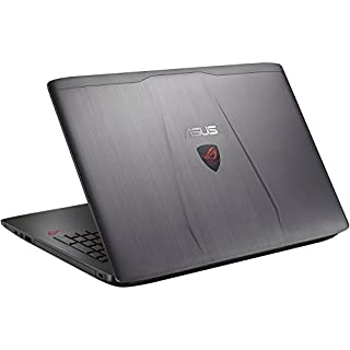 ASUS ROG GL552VW-DH71 15-Inch Gaming Laptop, Discrete GPU GeForce GTX 960M 2GB VRAM, 16GB DDR4, 1TB - ROG Metallic (Renewed)