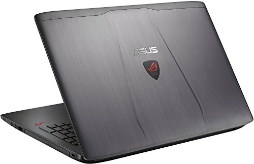 ASUS ROG GL552VW-DH71 15-Inch Gaming Laptop, Discrete GPU GeForce GTX 960M 2GB VRAM, 16GB DDR4, 1TB - ROG Metallic (Certified Refurbished)