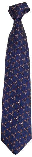 NCAA Men's Syracuse Orange Lacrosse Necktie, Blue/Orange ()