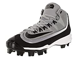 Nike Men's Huarache 2kfilth Pro Baseball Cleat Wolf Greyanthracitewhiteblack Size 12 M Us