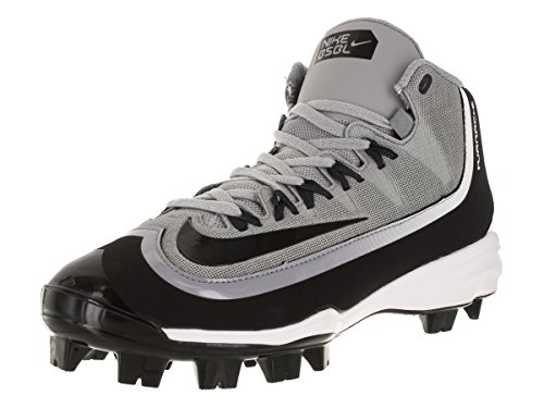 NIKE Men's Huarache 2KFilth Pro Baseball Cleat Wolf Grey/Anthracite/White/Black Size 7 M US