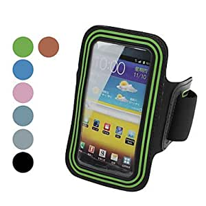 GONGXI Waterproof and Anti-Sweat TPU Case Armband for i9220 (Assorted Colors) , Brown