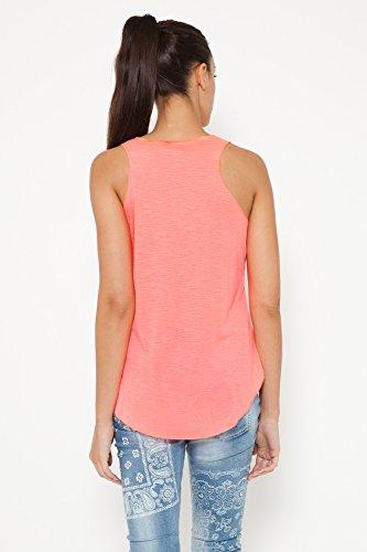 TANTRA, Camiseta sin Mangas para Mujer Naranja