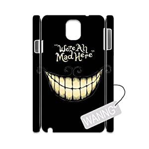 We're All Mad Here Samsung Galaxy Note3 N9000 3D Cover Case. We're All Mad Here Custom Case for Samsung Galaxy Note3 N9000 at WANNG