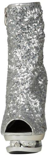 The Highest Heel Highest heel Scarponcini Bout e/o tallone aperti diamond-31 Argento