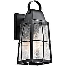 Kichler 49552BKT Tolerand Outdoor Wall 1-Light, Textured Black