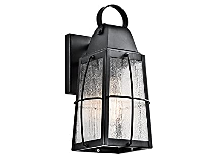 Kichler 48BKT Tolerand 48Light 482 Outdoor Medium Wall In Amazing Wall Light Exterior Model Collection