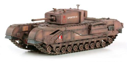 1/72 WW.II イギリス陸軍 第48王立戦車連隊 チャーチル歩兵戦車 Mk.III`スプリンターIV`イングランド 1942 DRR60591