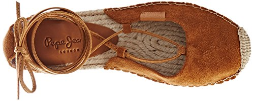 Nut Brown Brown Women's Jeans Pepe Espadrilles Monica Stays w6FWqHg