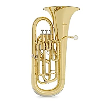 4 valve euphonium by gear4music amazon co uk musical instruments