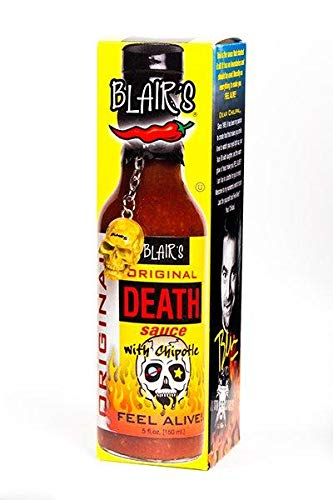 Blair's Original Death Hot Sauce with Chipotle 150ml