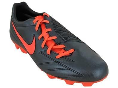 New Nike T90 Shoot IV FG Blk/Crimson Mens 9.5