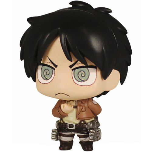 Attack on Titan Chibi Chara Mascot Part3 Key Chain Figure Tomy - Eren Yeager (Salute Ver.) (Anime Chibi Figures compare prices)