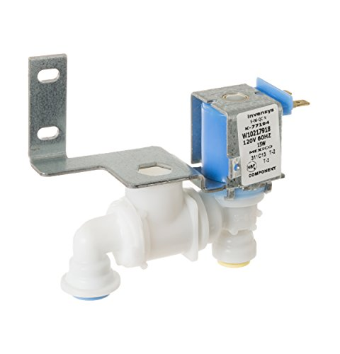 Ice Maker Water Valve Replacement for GE Whirlpool WR57X10068, W10217918, 2313644, 1469049 by Kitchen Basics 101