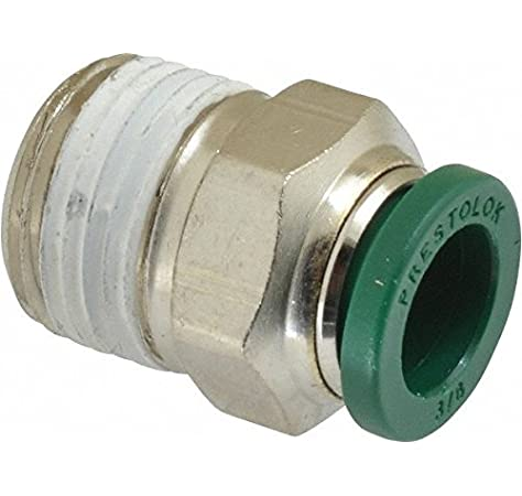Push-To-Connect and BSPP Standpipe 10 mm and 1//4 Pack of 5 Parker 68PLPSP-10M-4G-pk5 Composite Push-To-Connect Fitting Tube to Pipe Nylon 10 mm and 1//4 Glass Reinforced 6.6