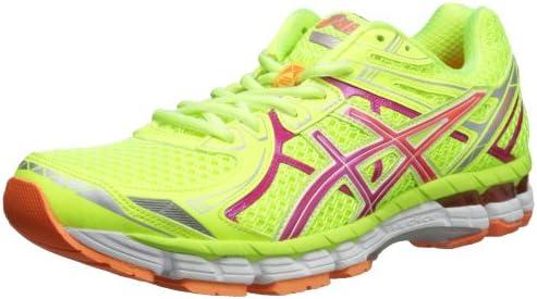 ASICS Women's GT 2000 2 Running Shoe,Flash YellowHot Pink