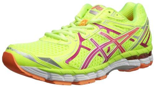 Asics - Zapatillas de running para mujer - Fluorescent Yellow/Hot Pink/Orange