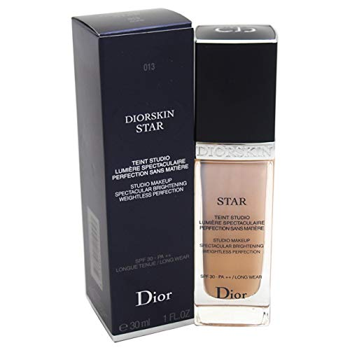 Dior Star - Christian Dior Skin Star Studio Spectacular Brightening SPF 30 Makeup, No. 013 Dune, 1 Ounce