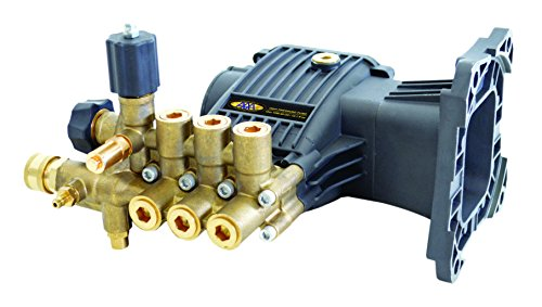 SIMPSON Cleaning 90038 Triplex Plunger Horizontal Pressure Washer Replacement Pump 10.0GA13 3800 PSI @ 3.5 GPM with Brass Head and PowerBoost Technology by Simpson Cleaning