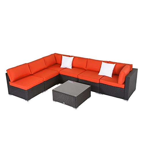 peach tree furniture sectional wicker