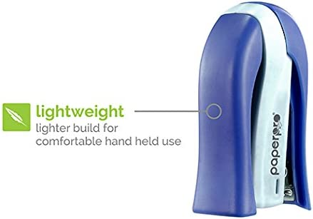 15 Sheets Blue PaperPro inSHAPE 15 Reduced Effort Compact Stapler 1451