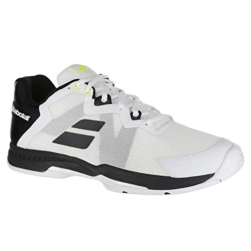 - Babolat Men`s SFX 3 All Court Tennis Shoes Black and Silver (10.5)