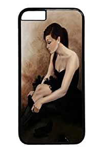 iphone 4 4s Case and Cover -Black Ballet PC case Cover for iphone 4 4s and iiphone 4 4s inch Black