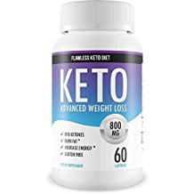 Flawless Keto Diet - Advanced Weight Loss Supplement - Ketogenic Fat Burner - Supports Healthy Weight Loss - Burn Fat Instead of Carbs - 30 Day Supply