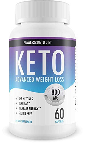Flawless Keto Diet - Advanced Weight Loss Supplement - Ketogenic Fat Burner  - Supports
