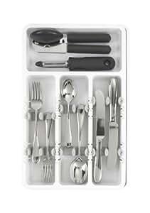 Oxo Good Grips - Organizador de utensilios de cocina expandible