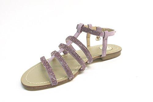 SARA LOPEZ - Sandalias de vestir de Satén para mujer Varios Colores multicolor 35 GLICINE