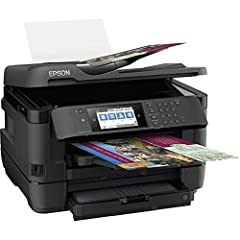 """Powered by Precision Core, the workforce WF-7720 wide-format all-in-one printer quickly produces print-shop-quality borderless prints up to 13"""" X 19"""" And scans up to 11"""" X 17"""". A versatile inkjet, it features 500-sheet capacity, dual trays, P..."""