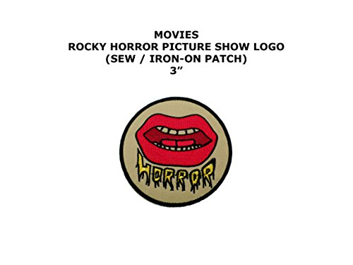 Rocky Horror Doctor Costume (Rocky Horror Picture Show Movie DIY Embroidered Sew or Iron-on Applique Patch Outlander Gear)