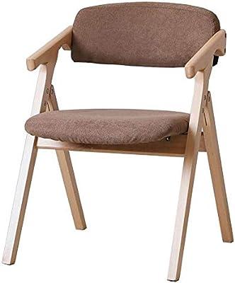 WYYY silla de Oficina Silla De Comedor Plegable Marco De Madera ...