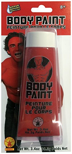 Rubie's Men's Body Paint, Red, One Size -