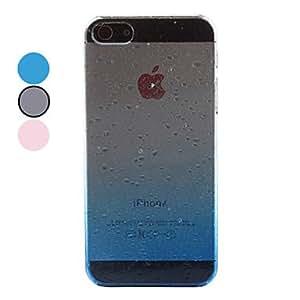 comprar Caja dura superficial lluvia para el iphone 5/5s (colores surtidos) , Rosa