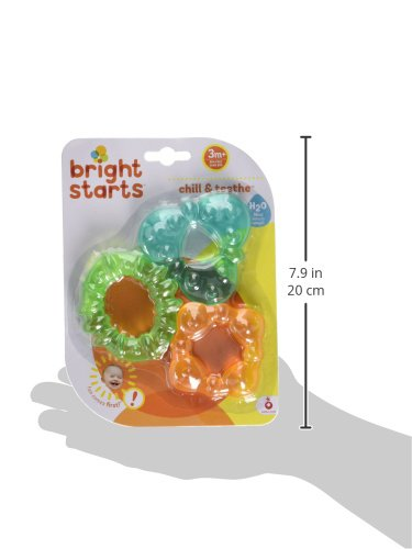 41NQzuNY9tL - Bright Starts Chill & Teethe Teething Toy