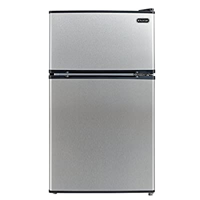 Whynter MRF-340DS 3.4 Cubic Feet Energy Star Stainless Steel Compact Refrigerator/Freezer