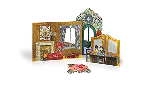 Framed Art PALACE SISTERS Dollhouse Picture MADE IN AMERICA FAST DELIVERY