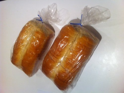 Price comparison product image 2 X Bread Loaf Bags Pack of 100 with 100 Free Bread Ties!