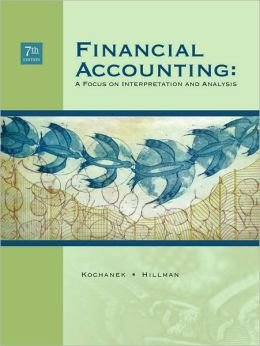 Financial Accounting: A Focus on Interpretation and Analysis pdf