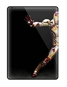 6329137K19249425 Faddish Phone Iron Man Case For Ipad Air / Perfect Case Cover