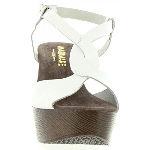 Sandali per Donna MARIA MARE 65893 C6811 VAQUET BLANCO