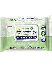 Germisept Germisept Multi-Purpose Alcohol Wipes 50 pack, White, Aloe Vera